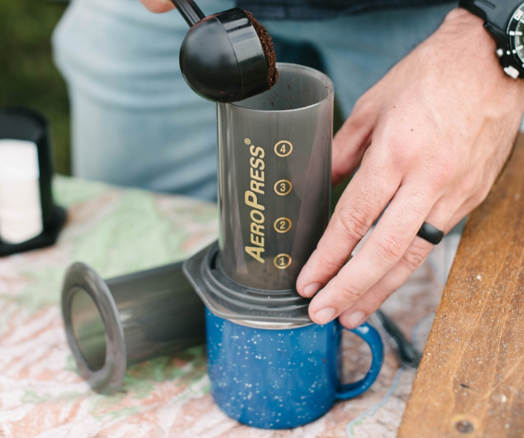 AeroPress Brewing Guide: Coffee Pour