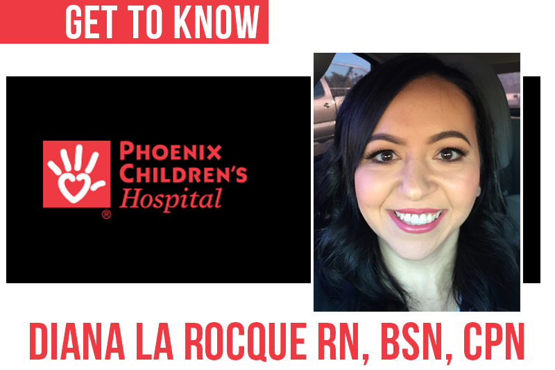 Meet Diana – New HH Program Coordinator at Phoenix Children's Hospital (PCH)!