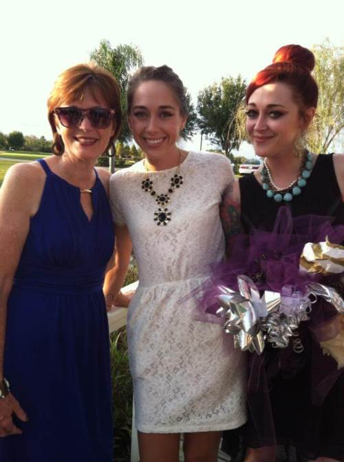wedding rehearsal - momma and her girls