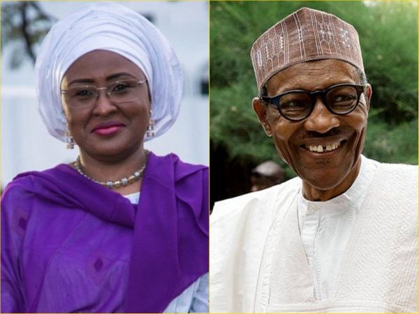 Image result for aisha and buhari