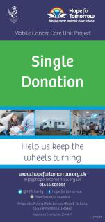Image for 'Single Donation' leaflet