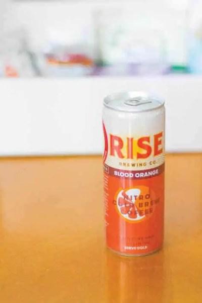Rise Brewing Co - Nitro Cold Brew Coffee Blood Orange