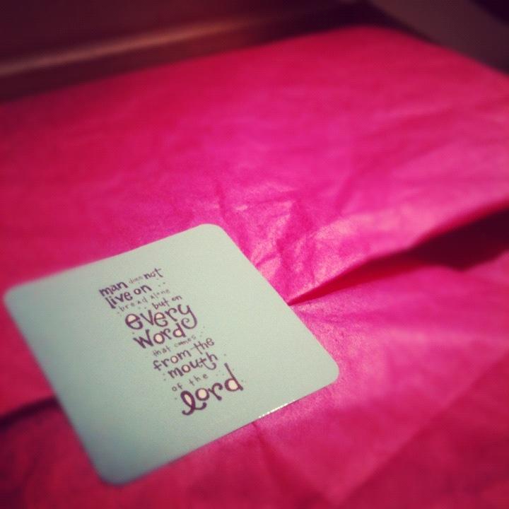 Pink Tissue Hope Ink Packaging