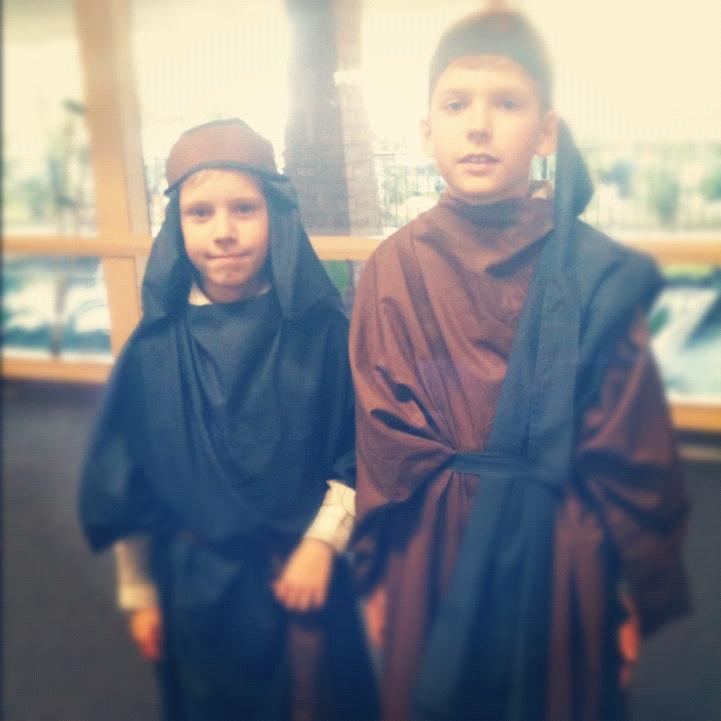 Christmas Pageant Shepherds