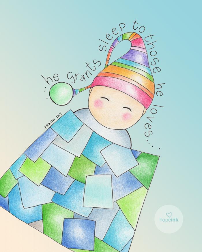 He Grants Sleep To Those He Loves
