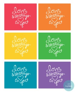 Happy Day Project Printable Gift Cards