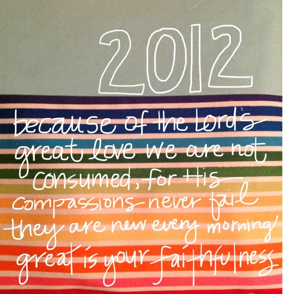 2012 Bible Verse