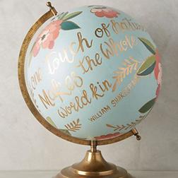 Lettered Globe