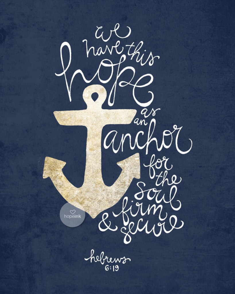 Anchor For The Soul | Hope Ink Art