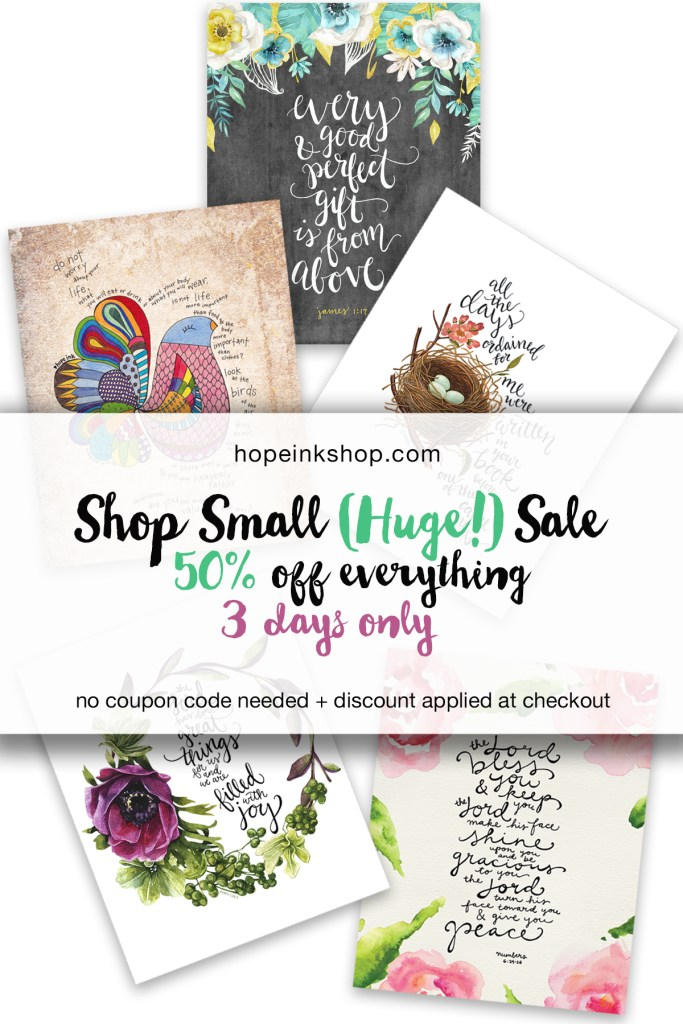 Sale Shop Small Business Saturday