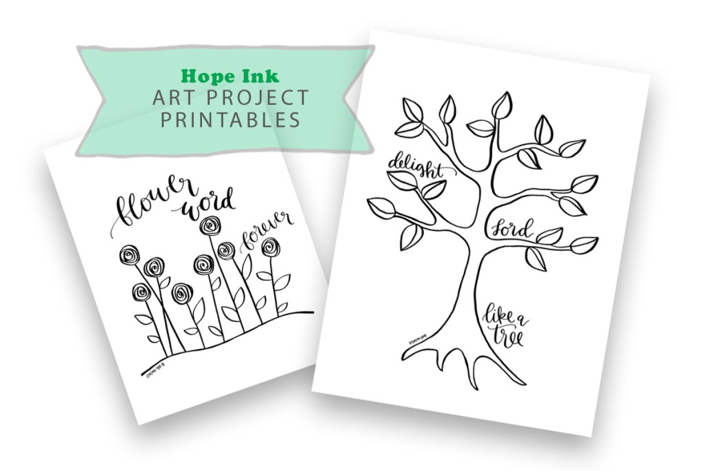 Inspiring Creativity New Art Project Printables