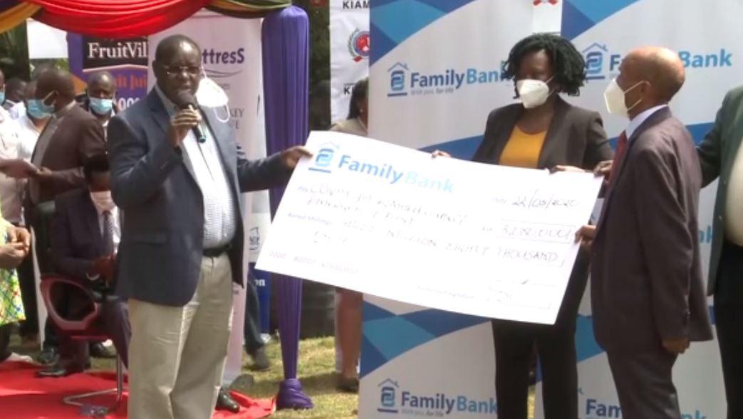 FAMILY BANK DONATES ICU BEDS WORTH SH.3 MILLION TO KIAMBU COUNTY GOVERNMENT