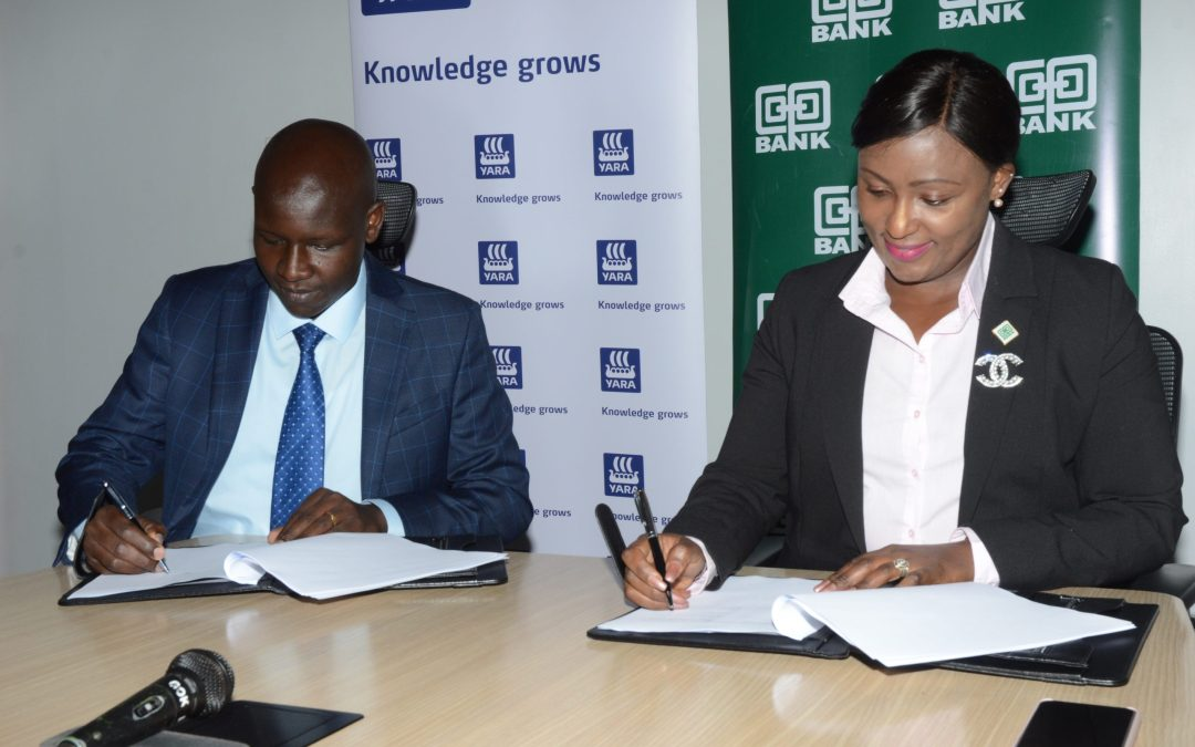 Co-op Bank signs a Ksh.500 Million Fertilizer Distributor Financing with YAR