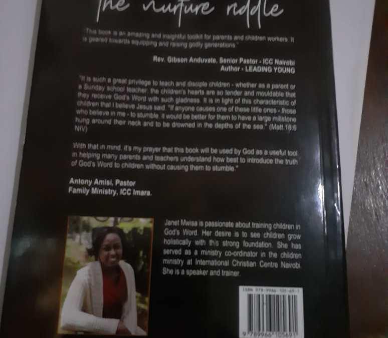 Christian Author hails Hope FM presenter in prologue of  'The Nurture Riddle' book