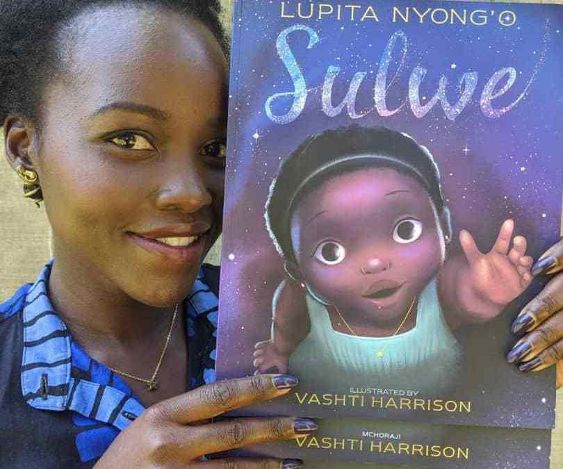 "Lupita Nyong'o presents ""Sulwe"" book in East Africa"