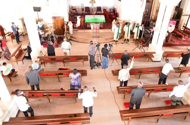 Churches in Uganda resumes in-house worship after relaxed COVID 19 lockdown rules