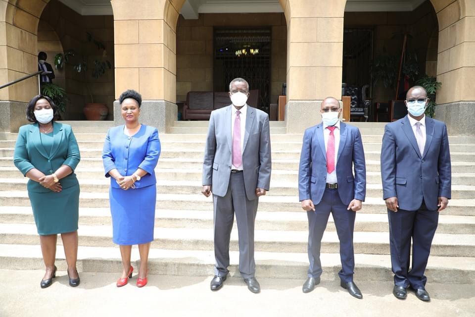 New Political Parties Registrar and team sworn in