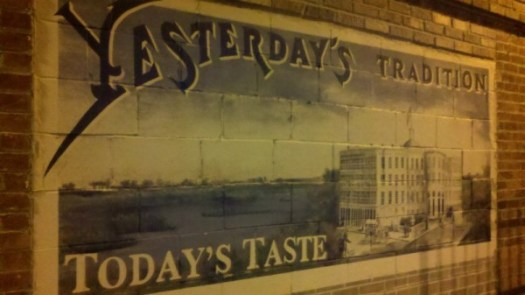 One of the murals that greet you at Maumee Bay Brewing