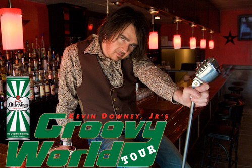Kevin Downey Jr.'s Groovy World Tour presented by Little Kings