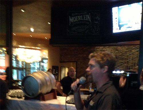 Tapping At Moerlein Lager House