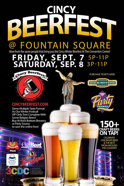 Cincy Beerfest at Fountain Square