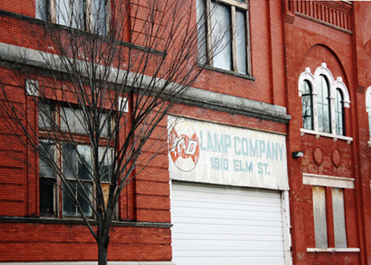 The bottling facility was once home to K-D Lamp Company.