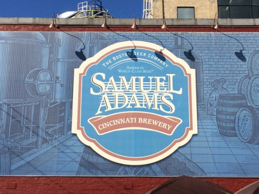 Samuel Adams Brewery Sign