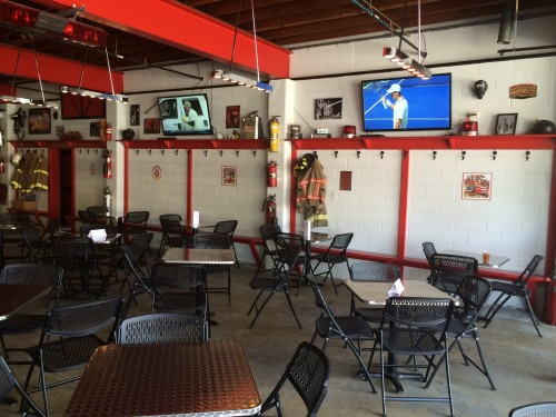 Old Firehouse Brewery interior