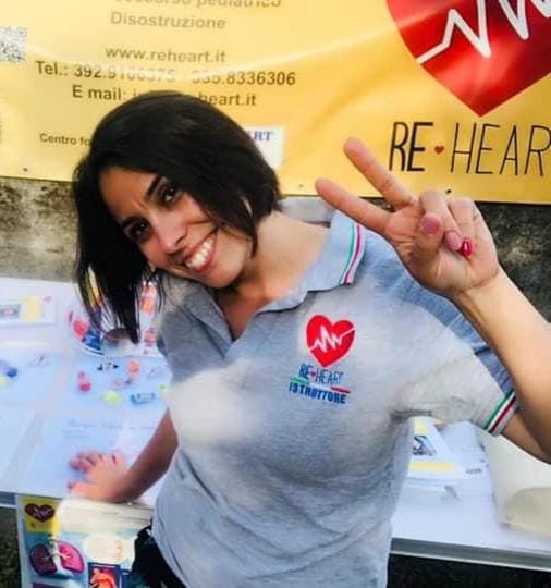 Manuela Livoni istruttore progetto Re-Heart Chivasso