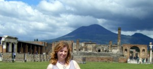 Mélanie Hope at Pompeii