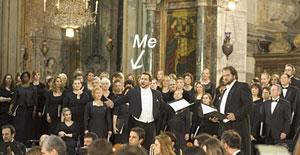 Melanie Hope in an opera in Rome