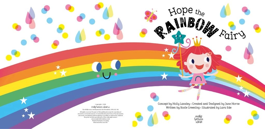 Hope the Rainbow Fairy Spread 1