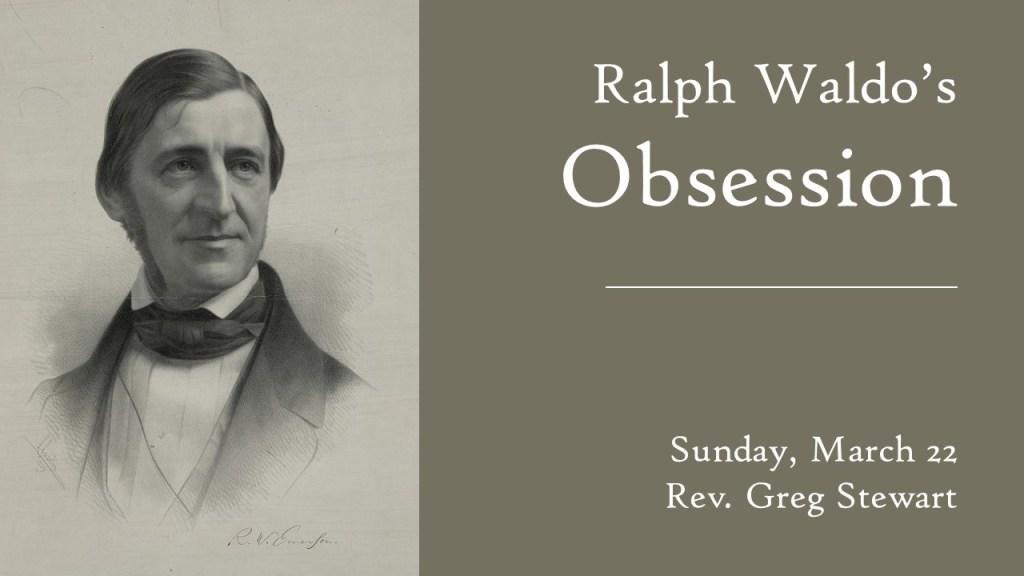A portrait of Ralph Waldo Emerson