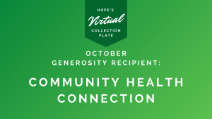 October Generosity Recipient - Community Health Connection
