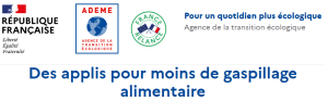 LOGO ADEME lutter contre le gaspillage alimentaire
