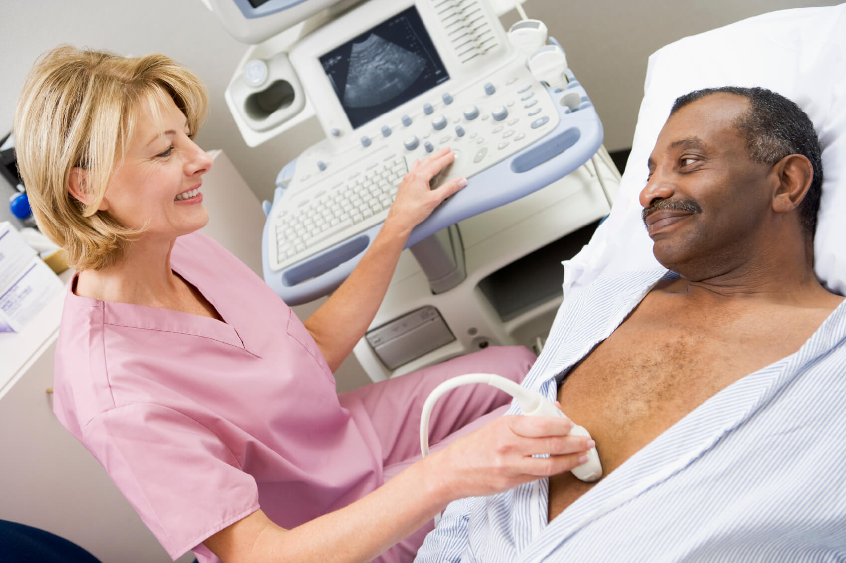 Radiology Exam Ultrasound Scan