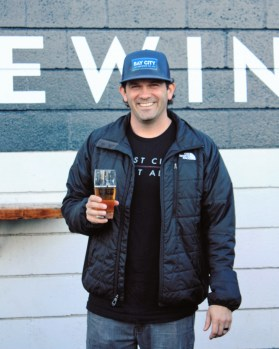 Scott Friedli, General Manager of Bay City Brewing Co.