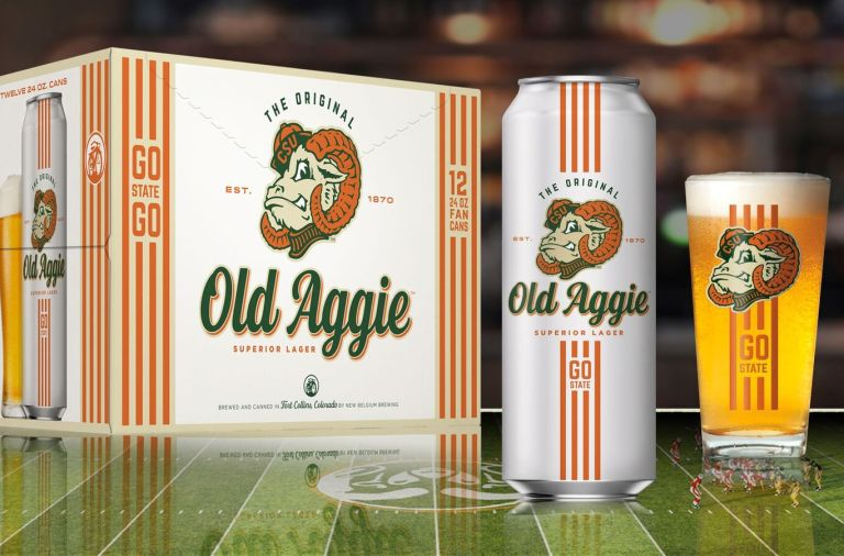 Old Aggie Superior Lager - New Belgium and Colorado State Collaboration