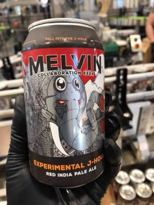 Melvin Brewing + Rhinegeist Collaboration beer - Experimental J-Hole