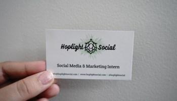 Meet the Social Media & Marketing Interns - Hoplight Social