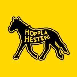 Hoppla Hesten logo
