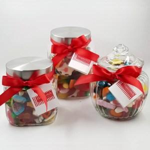 Glass Sweet Jars