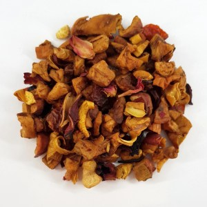 Ginger and Peach Fruit Blend