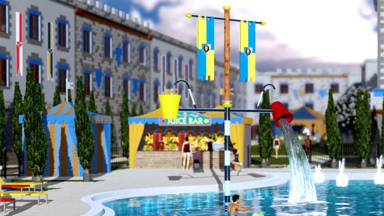 legoland, word on the brick, pool, april 2018, fun , family kids, legoland hotel