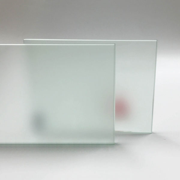 Acid Etched Glass Architectural Glass Tempered Glass