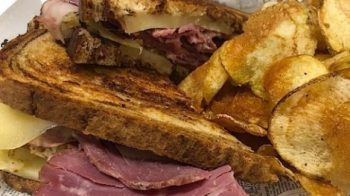 Food-Reuben & Chips