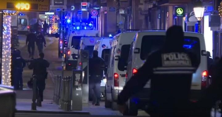 El atentado de Estrasburgo conmociona Francia