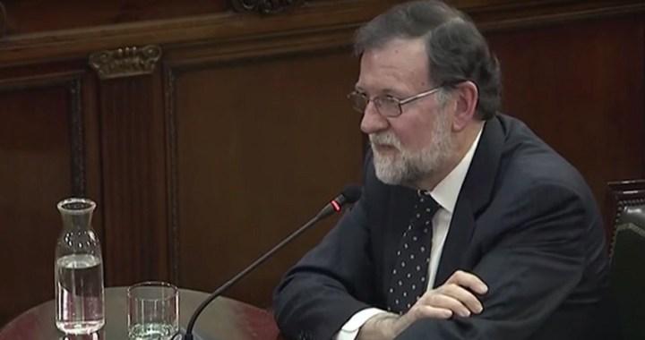 Mariano Rajoy dice que nunca negoció nada con Cataluña y que no hubo mediador