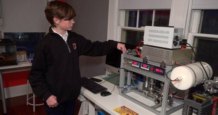 Un niño estadounidense de 14 años logra crear un reactor de fusión nuclear en su habitación