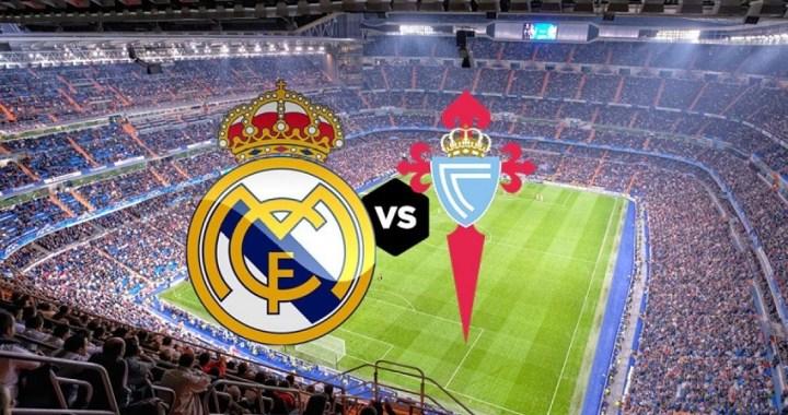 A qué hora juega el Madrid – Celta de LaLiga Santander